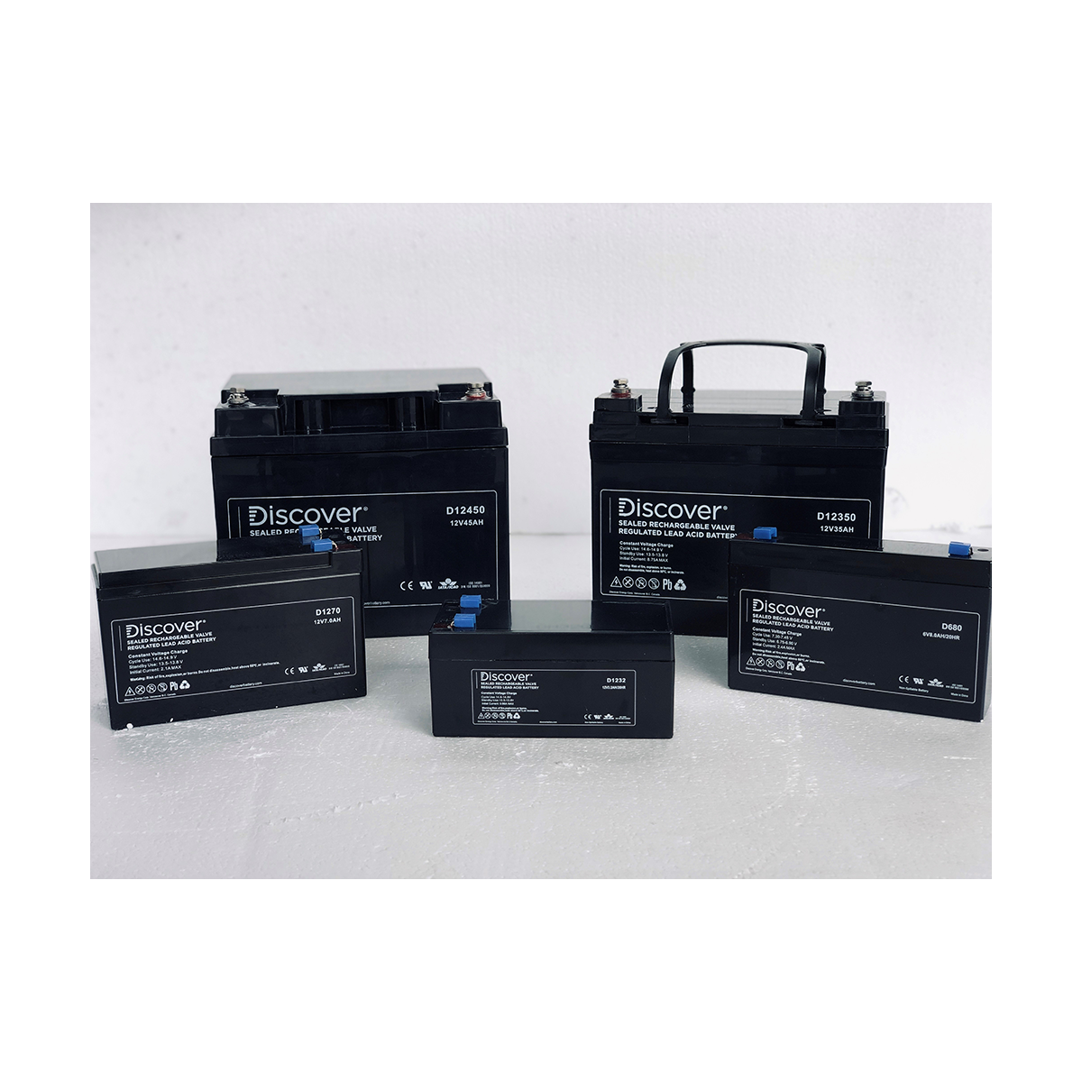 DISCOVER 12V 12AH AGM BATTERY